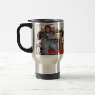 ¡Mantendré su café caliente! Taza Térmica
