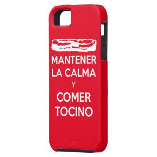 Mantener La Calma y Comer Tocino iPhone SE/5/5s Case