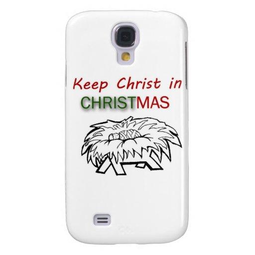 Mantenga a Cristo navidad