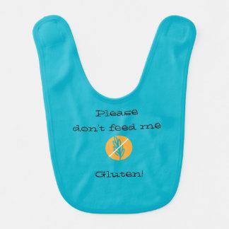 ¡Mantenga a su bebé seguro del gluten con este Babero De Bebé