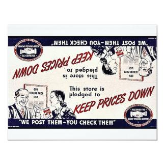 Mantenga bajos los precios anuncios personalizados