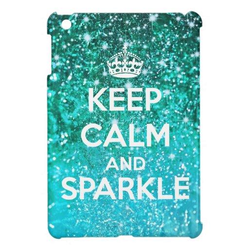 Mantenga brillo tranquilo y de la chispa LookLike  iPad Mini Cárcasa