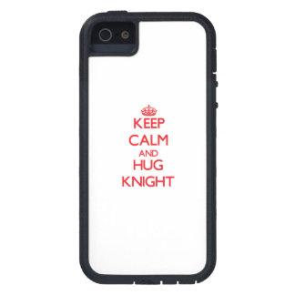 Mantenga caballero tranquilo y del abrazo iPhone 5 Case-Mate protector