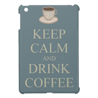 Mantenga café tranquilo y de la bebida