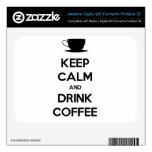 Mantenga café tranquilo y de la bebida WD elements SE skins