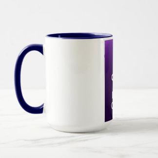 Mantenga café tranquilo y de la bebida taza