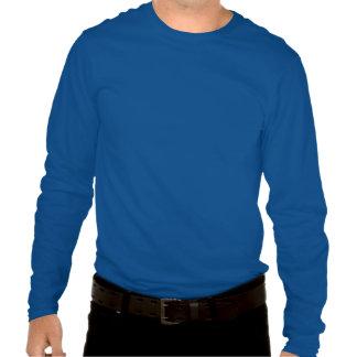 Mantenga camisa tranquila y de la elevación de los
