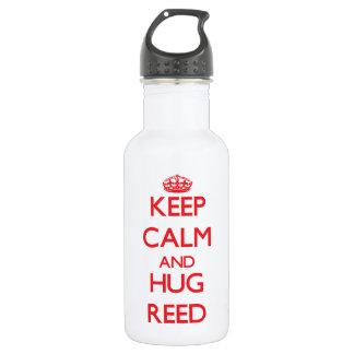 Mantenga caña tranquila y del abrazo