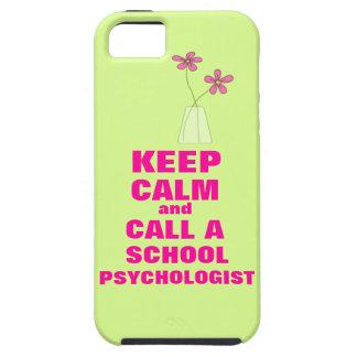 Mantenga caso tranquilo y de la llamada de la escu iPhone 5 Case-Mate carcasa