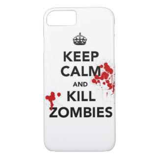 mantenga caso tranquilo y de la matanza de los funda iPhone 7