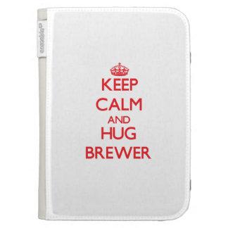 Mantenga cervecero tranquilo y del abrazo