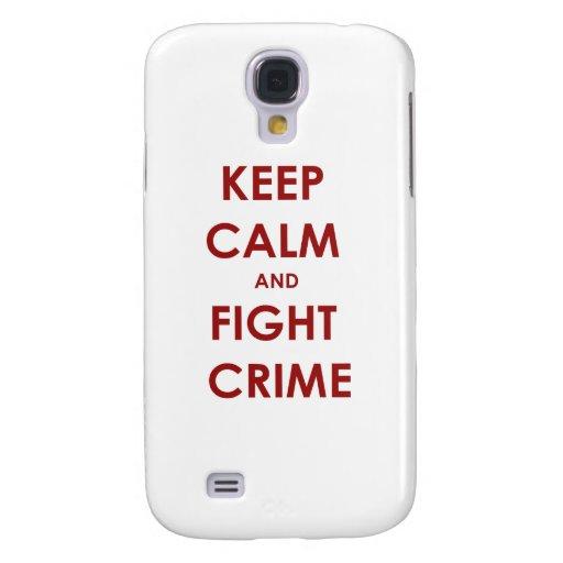 Mantenga crimen tranquilo y de la lucha