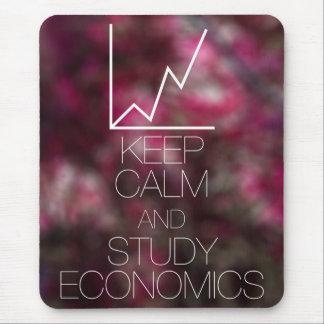 Mantenga economía tranquila y del estudio alfombrillas de ratones