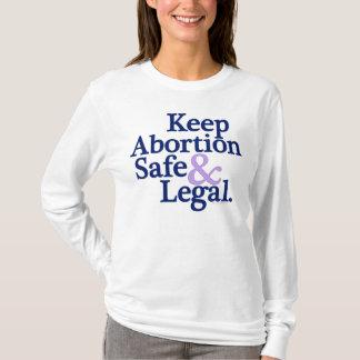 Mantenga el aborto camisa segura y legal
