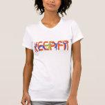 Mantenga el ajuste color camisetas