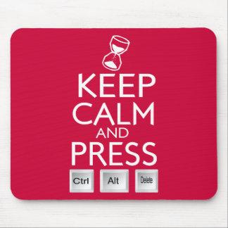 Mantenga el control tranquilo y de la prensa Alt y Alfombrilla De Raton