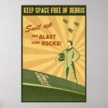 Mantenga el espacio libre de la ruina impresiones
