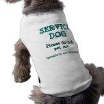 Mantenga el perro/las preguntas 2 camisa de mascota
