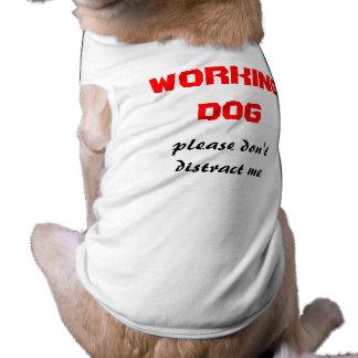 mantenga el perro playera sin mangas para perro