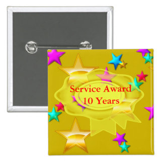 Mantenga el premio 10 años pins