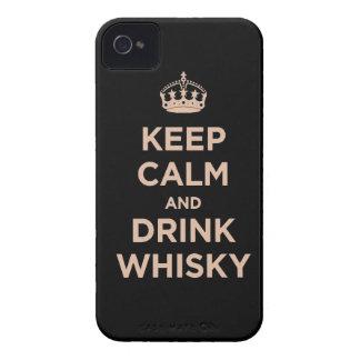 mantenga enchufe tranquilo y de la bebida Dan del Case-Mate iPhone 4 Protector