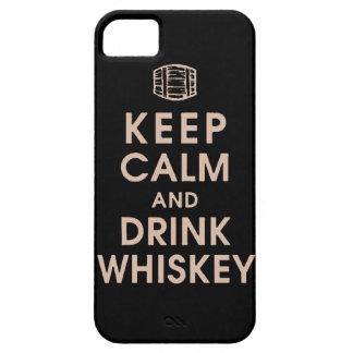 mantenga enchufe tranquilo y de la bebida Dan del iPhone 5 Carcasa
