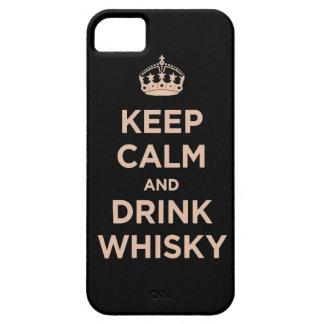 mantenga enchufe tranquilo y de la bebida Dan del iPhone 5 Case-Mate Cobertura