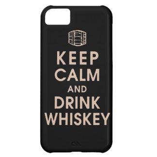mantenga enchufe tranquilo y de la bebida Dan del  Funda Para iPhone 5C