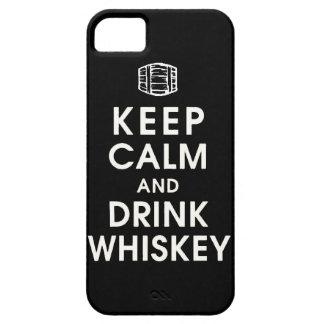 mantenga enchufe tranquilo y de la bebida Dan del iPhone 5 Funda