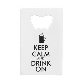 Mantenga estilo tranquilo y de la bebida de la