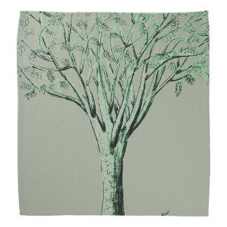 Mantenga fresco debajo del pañuelo del árbol bandana