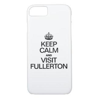 MANTENGA FULLERTON TRANQUILO Y DE LA VISITA FUNDA iPhone 7