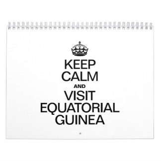 MANTENGA GUINEA ECUATORIAL TRANQUILA Y DE LA CALENDARIOS