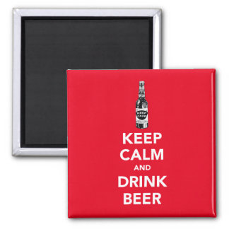 Mantenga imán tranquilo y de la bebida de la