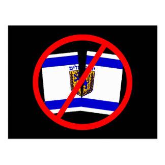 Mantenga Jerusalén unificada Postal