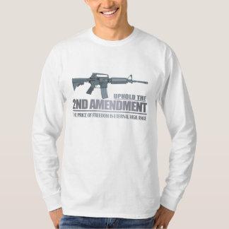 Mantenga la 2da ropa de la enmienda playera