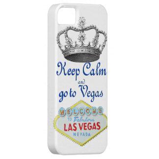 Mantenga la calma Las Vegas Funda Para iPhone 5 Barely There
