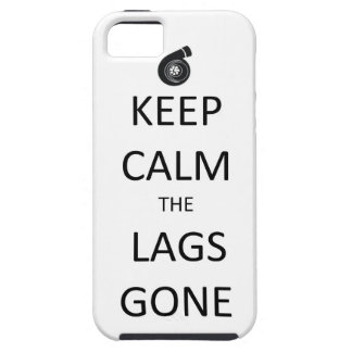 Mantenga la calma los retrasos ida - caso del iPho iPhone 5 Cobertura
