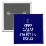Mantenga la calma y la confianza Jesús Pins