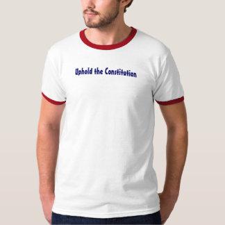Mantenga la constitución camisas