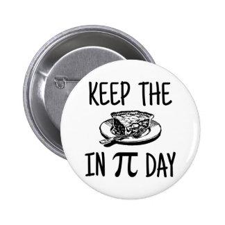 Mantenga la empanada día del pi