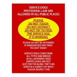 Mantenga la etiqueta del perro postal