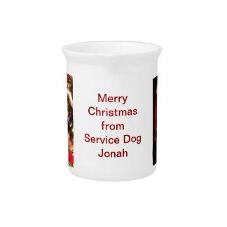 Mantenga la jarra del navidad de Jonah del perro