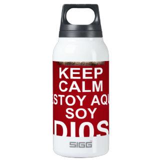 MANTENGA LA SOJA TRANQUILA DIOS DE ESTOY AQUI