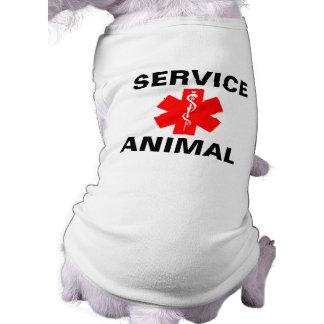 Mantenga las camisetas sin mangas alertas médicas playera sin mangas para perro
