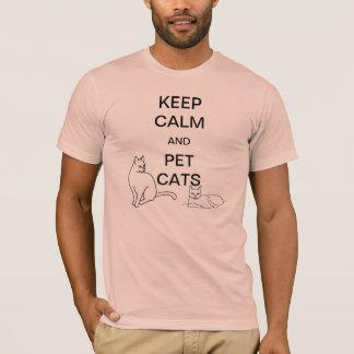 Mantenga las camisetas tranquilas y del mascota de