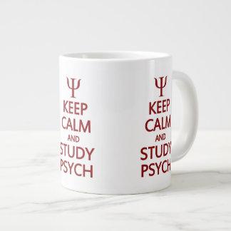 Mantenga las tazas tranquilas y del estudio de Psy Taza Grande