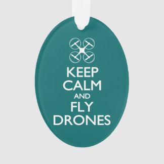 Mantenga los abejones tranquilos y de la mosca