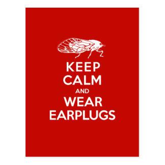 Mantenga los auriculares tranquilos y del desgaste postal