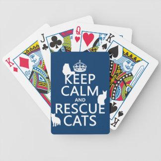 Mantenga los gatos tranquilos y del rescate en cu barajas